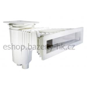 Skimmer 17,5L SLIM 500 mm ABS