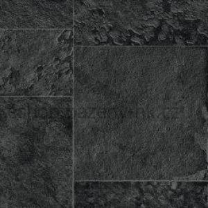 AVfol Relief - 3D Black Marmor Tiles, 1,65 m šíře, 1,6 mm, 20 m role